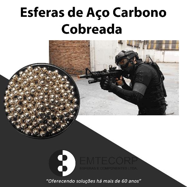 ESFERAS DE AÇO PARA AIRSOFT, QUANDO USAR