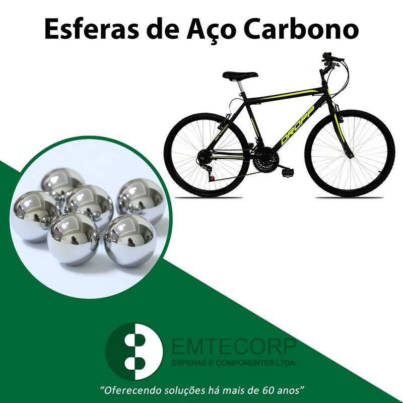 Esferas de aço para bicicleta